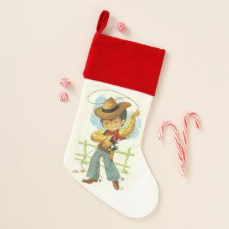 Chaussette De Noël Cowboy