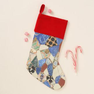 Chaussette De Noël Décoration de mosaïque