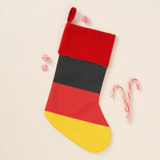 Chaussette De Noël Drapeau de bas de Noël de l'Allemagne