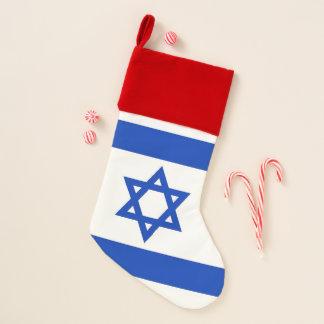 Chaussette De Noël Drapeau de bas de Noël de l'Israël