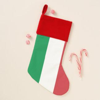 Chaussette De Noël Drapeau de bas de Noël de l'Italie