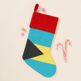 Chaussette De Noël Drapeau de bas de Noël des Bahamas