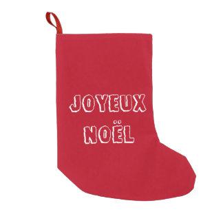 Chaussette de noël Joyeux Noël
