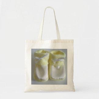 Chaussettes de bébé sac de toile