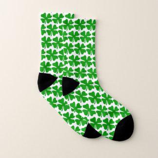 Chaussettes de Jour de la Saint Patrick avec les 4