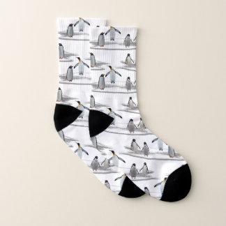 Chaussettes de partie d'iceberg de pingouin