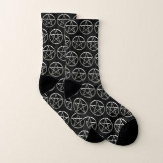 Chaussettes de pentagone étoilé de pentagramme