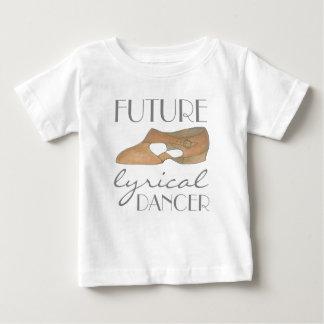 Chaussure bronzage de danse de FUTUR DANSEUR T-shirt Pour Bébé