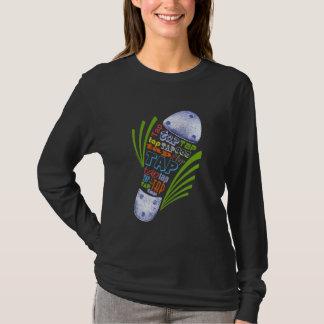 Chaussure de robinet - obscurité t-shirt
