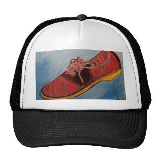 Chaussure de selle casquette trucker