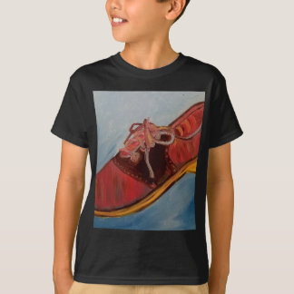Chaussure de selle t-shirt