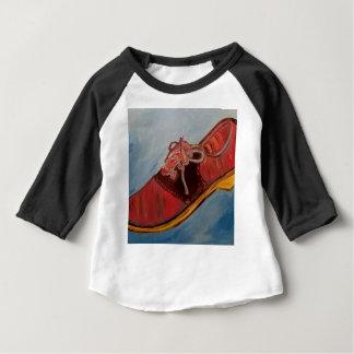 Chaussure de selle t-shirt pour bébé