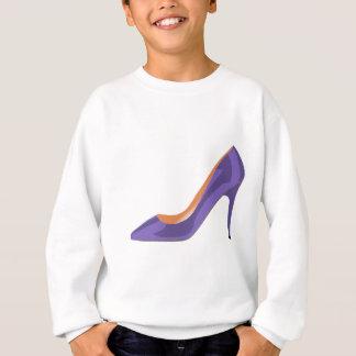 Chaussure de talon haut dans l'ultraviolet