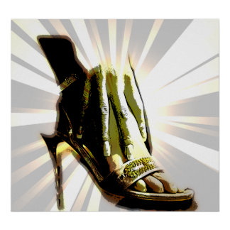 Chaussure Poster