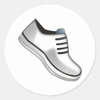 Chaussure sportive - Emoji Sticker Rond