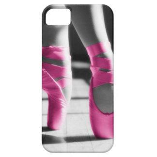 Chaussures de ballet roses lumineuses coque iPhone 5