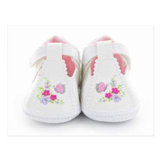 Chaussures de bébé cartes postales