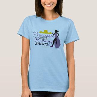 Chaussures de course de princesses Wear T-shirt