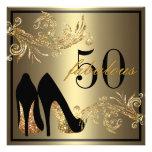 Chaussures de danse - cinquantième invitation fabu