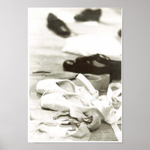 Chaussures de danse affiche