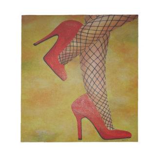 Chaussures de la sucrerie deux bloc-note