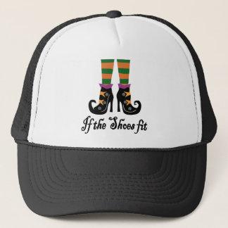 chaussures de sorcières casquettes de camionneur