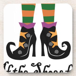 chaussures de sorcières dessous-de-verre