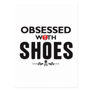 Chaussures hantées carte postale