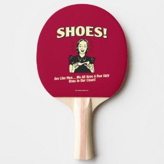 Chaussures : Soyez comme les hommes Raquette Tennis De Table