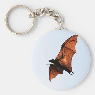 Chauve-souris de fruit renard de vol porte-clef