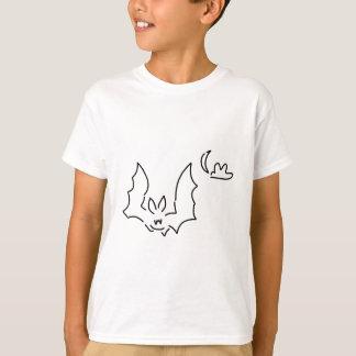 chauve-souris flughund la nuit lune t-shirts