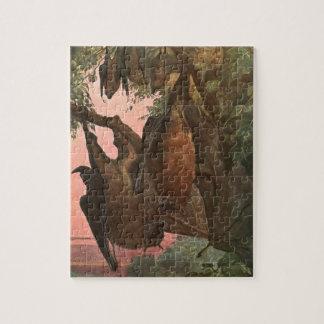 Chauves-souris de Fox de vol par Austen, animaux Puzzle