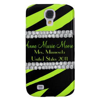 Chaux de diamant et coque iphone noir de zèbre