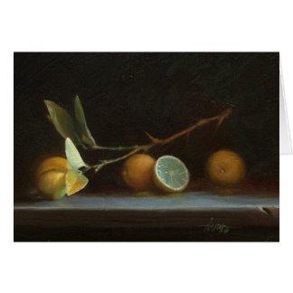 Chaux mexicaines, une huile originale par David R. Carte De Vœux