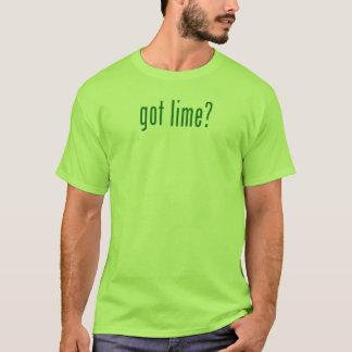 Chaux obtenue ? - T-shirt vert