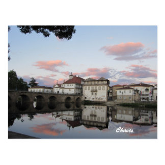 Chaves, Portugal Carte Postale