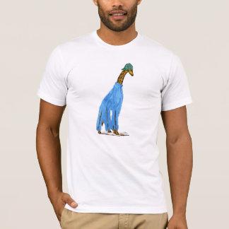 Chaving une girafe t-shirt
