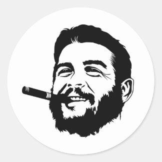 Che Guevara avec l'autocollant de portrait de
