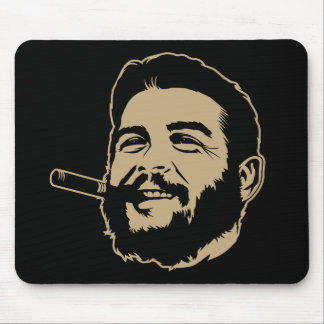 Che Guevara avec le portrait Mousepad de cigare Tapis De Souris