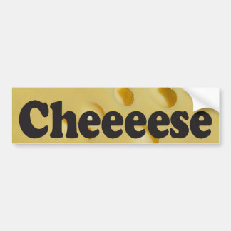 Cheeeese - adhésif pour pare-chocs autocollants pour voiture