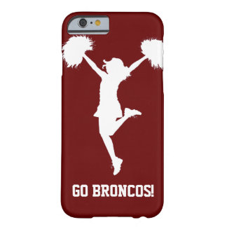 Cheerleading personnalisable de pom-pom girl coque iPhone 6 barely there