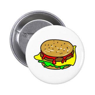 cheeseburger badge