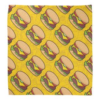 Cheeseburger Bandanas