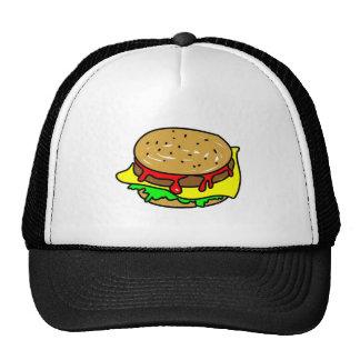 cheeseburger casquettes