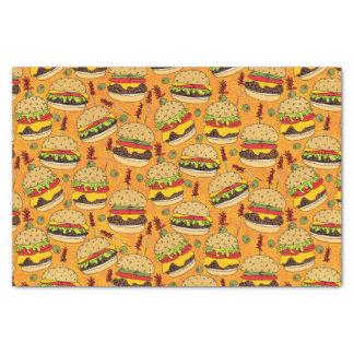 Cheeseburger de luxe papier mousseline