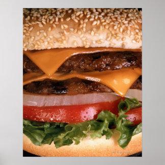 Cheeseburger Posters