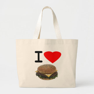 Cheeseburgers drôles d'amour d'I Grand Sac