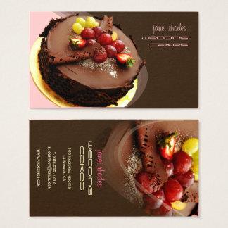 Chef de pâtisserie, cartes de visite de boulangers