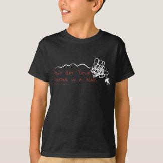 Chef de pêche de mouche t-shirt