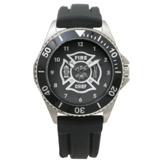 Chef des pompiers montres bracelet